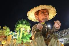Carnaval 2017 - Imperio Serrano Image stock