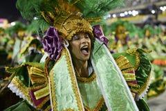 Carnaval 2017 - Imperio Serrano Images libres de droits