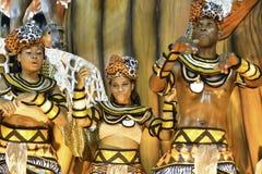 Carnaval 2018 - Inocentes de Belford Roxo imagens de stock