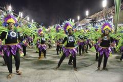 Carnaval 2018 - Inocentes de Belford Roxo fotos de stock