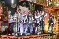 Carnaval 2018 - Inocentes de Belford Roxo foto de stock