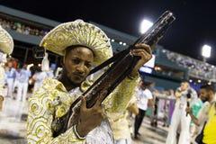 Carnaval Inocentes 2019 de Belford Roxo imagem de stock royalty free