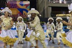 Carnaval Inocentes 2019 de Belford Roxo imagem de stock