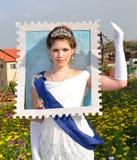 Carnaval Israël de Purim Photos libres de droits