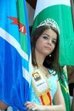 Carnaval-Koningin, Marbella, Spanje. Royalty-vrije Stock Foto