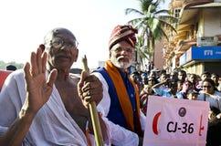 Carnaval 2019, la India de Goa foto de archivo libre de regalías