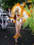 Carnaval le 13 septembre 2009 de festival de la Tamise de fleuve Image stock