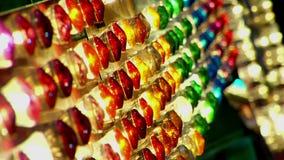 Carnaval-Lichten 9a stock footage