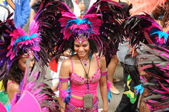 Carnaval Londres 2012 de Notting Hill Foto de Stock Royalty Free