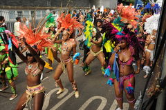 Carnaval Londres 2012 de Notting Hill Foto de Stock Royalty Free