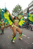 Carnaval Londres 2012 de Notting Hill Imagem de Stock