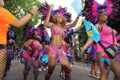 Carnaval Londres 2012 de Notting Hill Imagenes de archivo