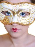 Carnaval Mädchen Lizenzfreie Stockfotografie