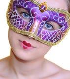 Carnaval Mädchen Lizenzfreies Stockfoto