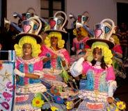 Carnaval maart 2014 Lanzarote Stock Foto's