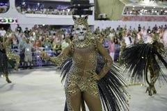 Carnaval 2018 - Mangueira Royalty-vrije Stock Foto's