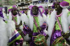 Carnaval 2018 - Mangueira Royalty-vrije Stock Foto