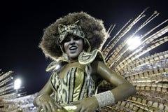 Carnaval 2018 - Mangueira Royalty-vrije Stock Afbeelding