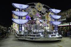 Carnaval 2018 - Mangueira Royalty-vrije Stock Afbeeldingen