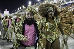 Carnaval 2018 - Mangueira Stock Foto