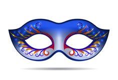 Carnaval-masker voor maskeradekostuum royalty-vrije illustratie