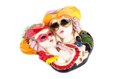 Carnaval-maskersdecoratie Royalty-vrije Stock Fotografie
