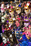 Carnaval masks. Shop in Venice royalty free stock photos
