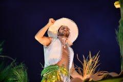 Carnaval 2018 - Mocidade Independente DE Padre Miguel Royalty-vrije Stock Foto