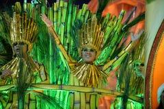 Carnaval 2018 - Mocidade Independente DE Padre Miguel Royalty-vrije Stock Foto's