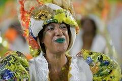 Carnaval 2018 - Mocidade Independente DE Padre Miguel Royalty-vrije Stock Afbeelding
