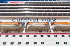 Carnaval-Moed van onderaan royalty-vrije stock afbeeldingen