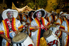 Carnaval in Montevideo Royalty Free Stock Photo