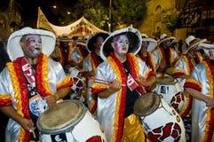 Carnaval à Montevideo Photo libre de droits