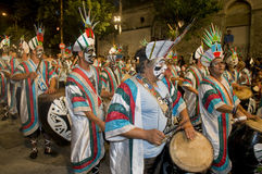 Carnaval in Montevideo Stock Images