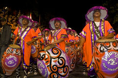Carnaval in Montevideo Stock Photography