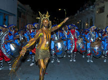 Carnaval in Montevideo Royalty Free Stock Images