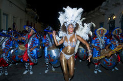 Carnaval in Montevideo Royalty Free Stock Image