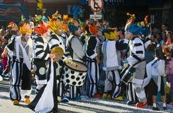 carnaval montevideo Arkivbild