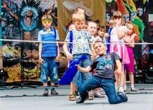 Carnaval in Moskou, Rusland Stock Afbeeldingen