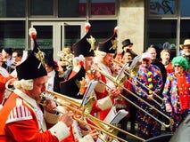 carnaval na água de Colônia Imagem de Stock Royalty Free