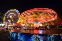 Carnaval na noite Imagem de Stock Royalty Free
