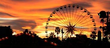 Carnaval no crepúsculo Imagens de Stock Royalty Free