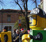 Carnaval - NY Yankee Lego Stock Afbeeldingen
