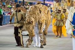 Carnaval 2016 - ONUDI De Vila Isabel Image stock