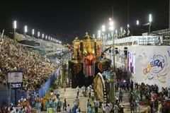 Carnaval - parada de Samba School imagens de stock