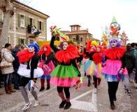 Carnaval-parade stock afbeeldingen
