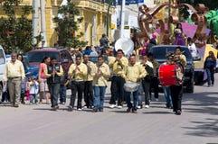 Carnaval Parade in Chapala Mexico Royalty Free Stock Photo