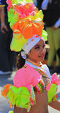 Carnaval Parade. Dancers performing at a parade during a carnaval in Veracruz, Mexico 07 Feb 2016 No model release Editorial use only Stock Photography