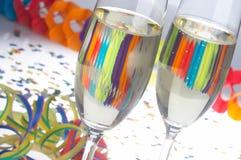 Carnaval-Partido - Faschingsfeier Fotos de Stock
