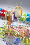 Carnaval-Partido - Faschingsfeier Foto de Stock Royalty Free